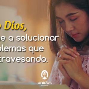 Oración para solucionar problemas