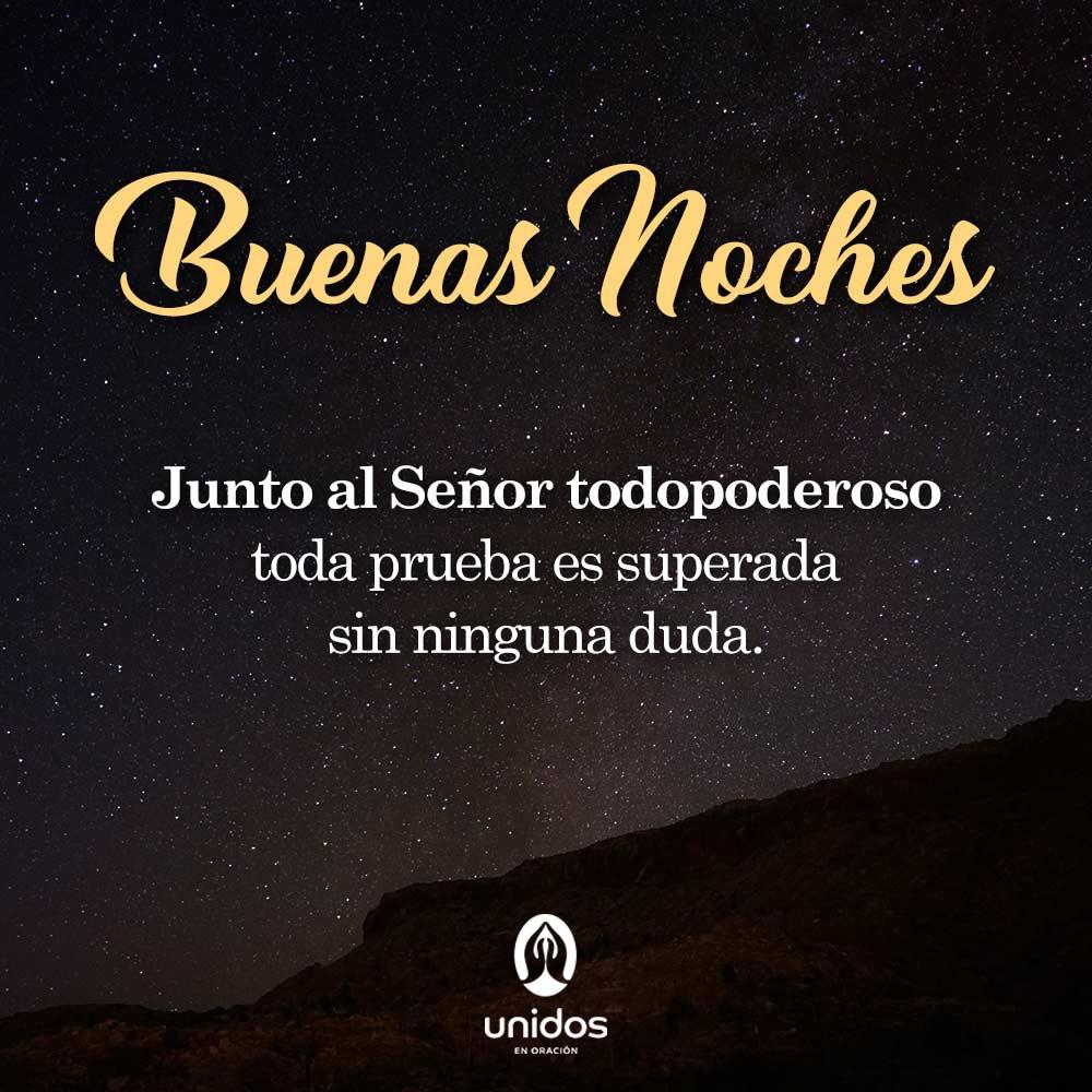 Oración de la noche para el 11 de Octubre del 2018