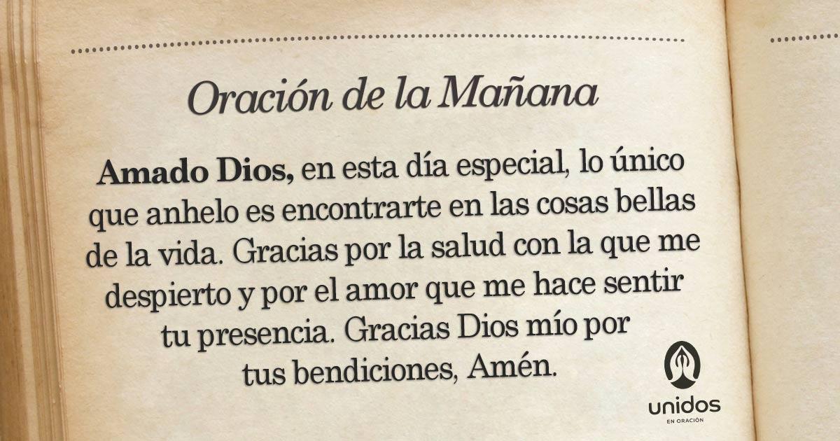 Oración de la mañana para el 25 de Febrero