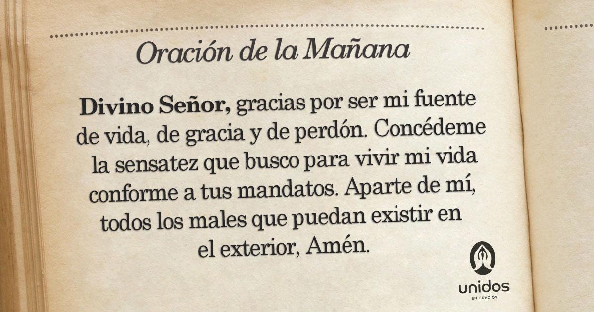 Oración de la mañana para el 28 de Enero