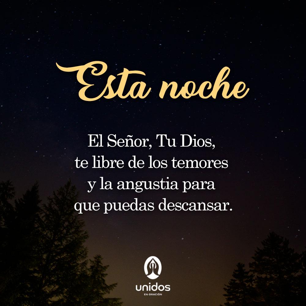 Oración de la noche para el 22 de Enero