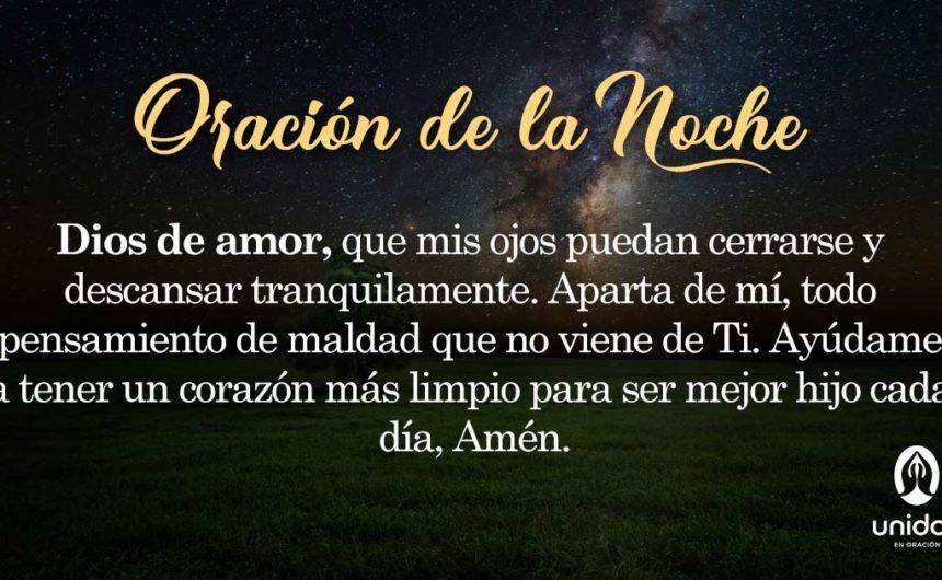 Oración de la noche para el 23 de Febrero