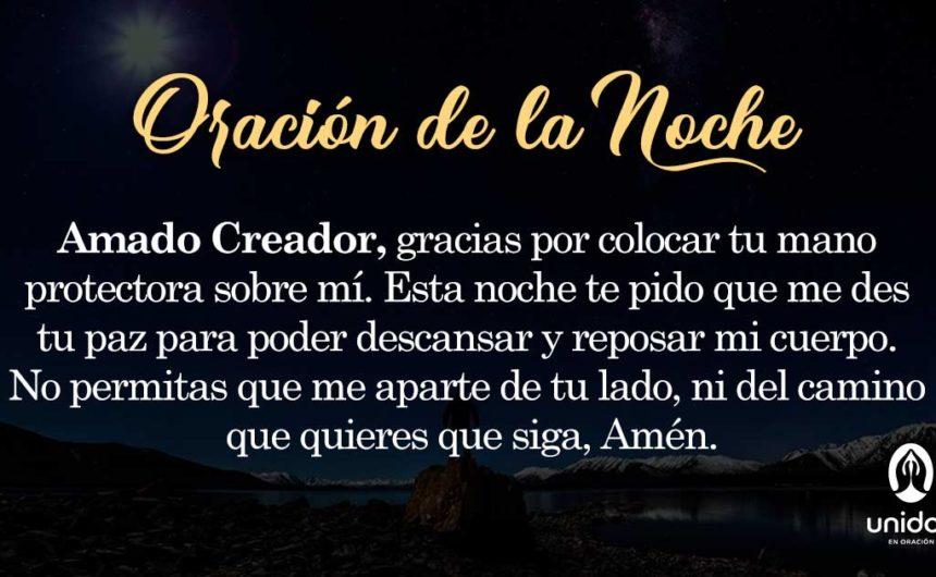 Oración de la noche para el 24 de Febrero