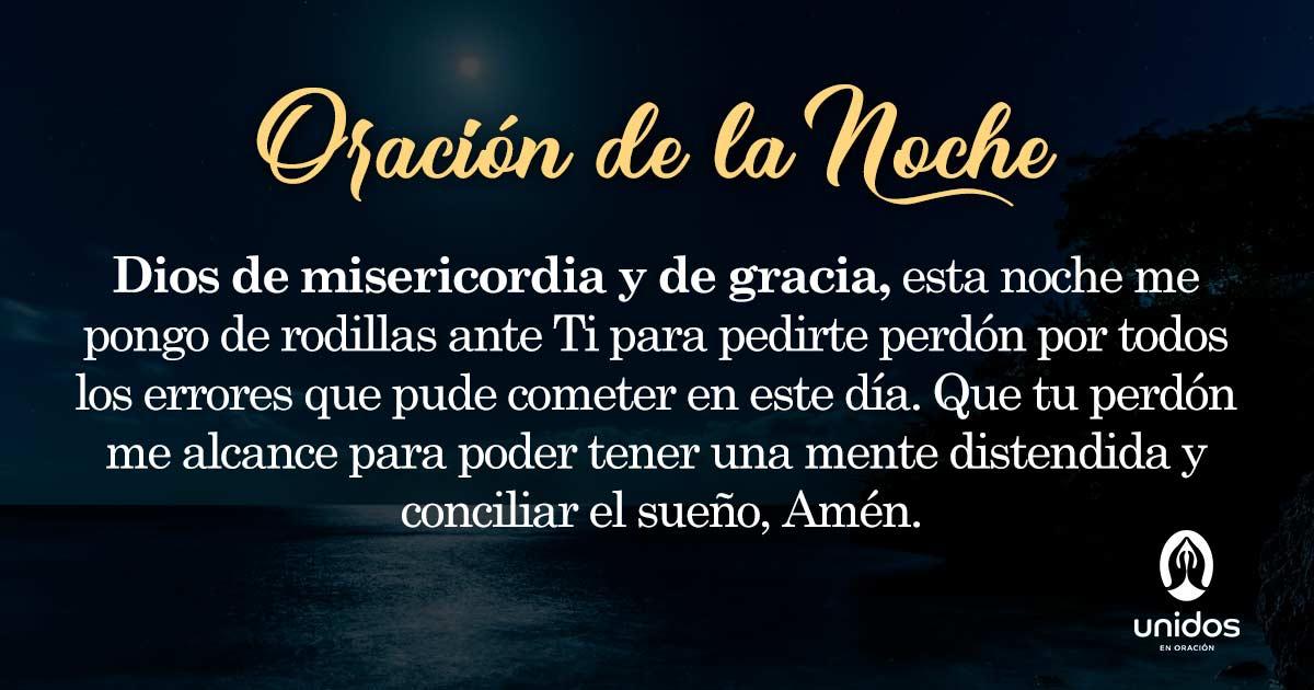 Oración de la noche para el 27 de Febrero