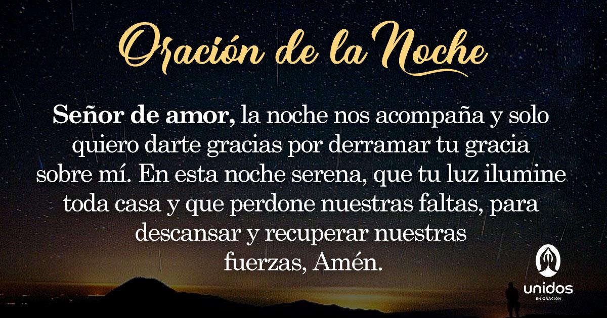 Oración de la noche para el 29 de Enero