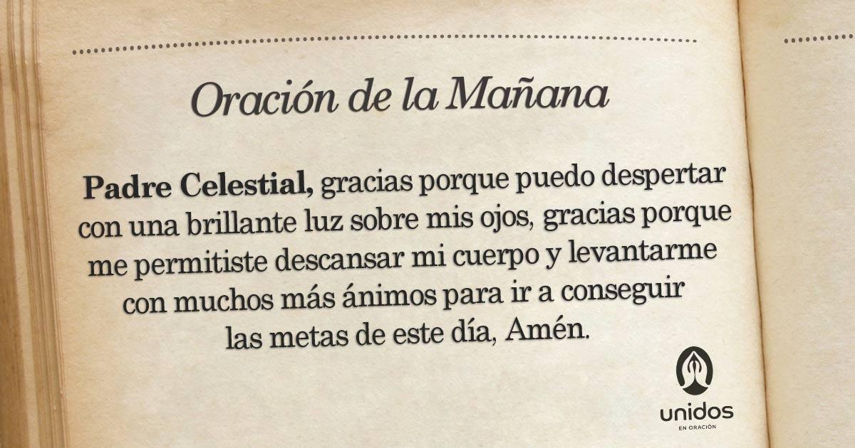 Oración de la mañana para el 30 de Marzo