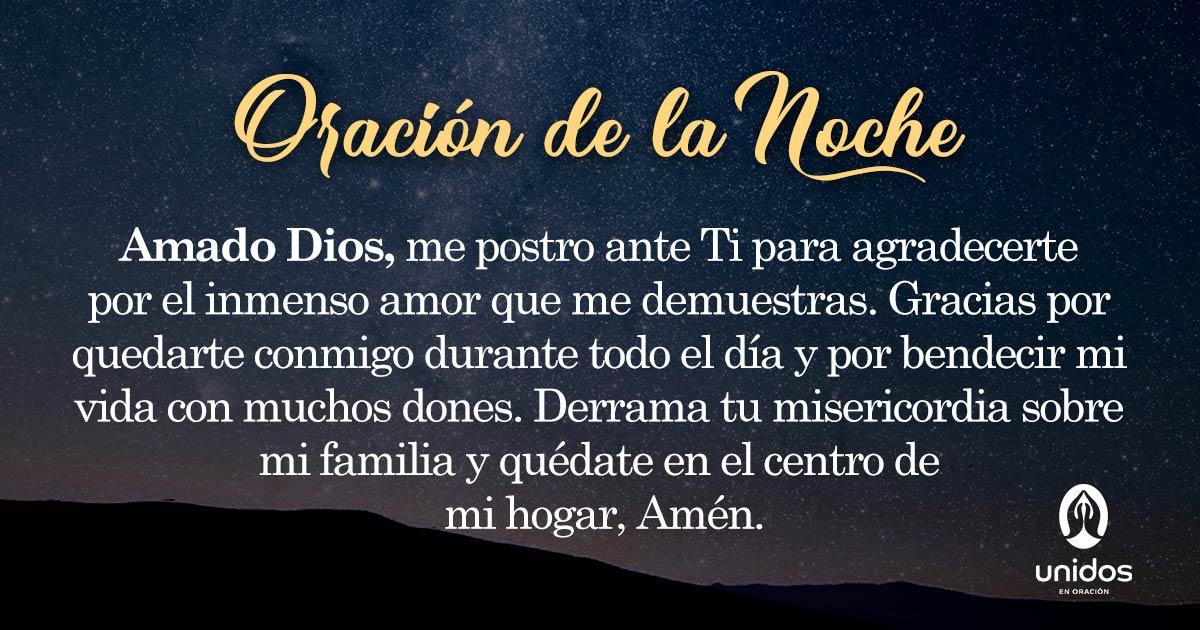 Oración de la noche para 7 de Abril