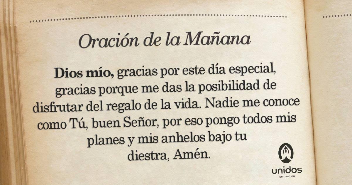 Oración de la mañana para el 28 de Febrero