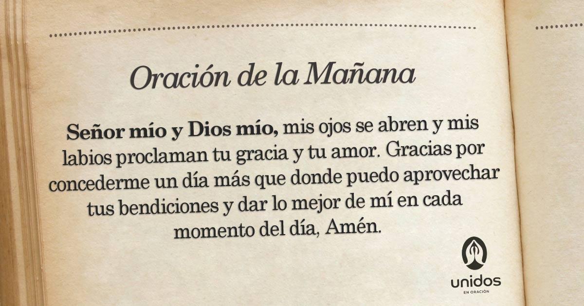 Oración de la mañana para el 28 de Junio