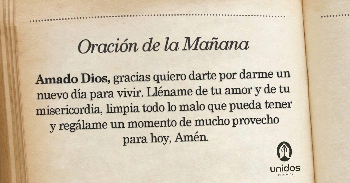 Oración de la mañana para el 31 de Mayo