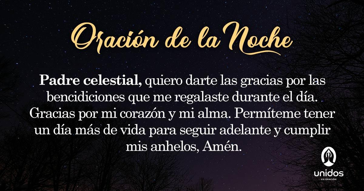 Oración de la noche para el 3 de Mayo