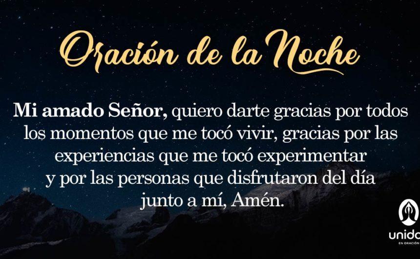 Oración de la noche para el 5 de Mayo