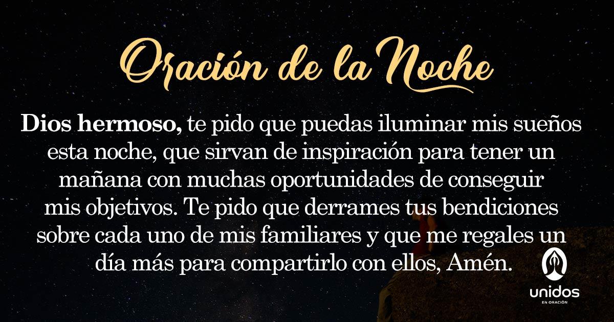 Oración de la noche para el 10 de Junio