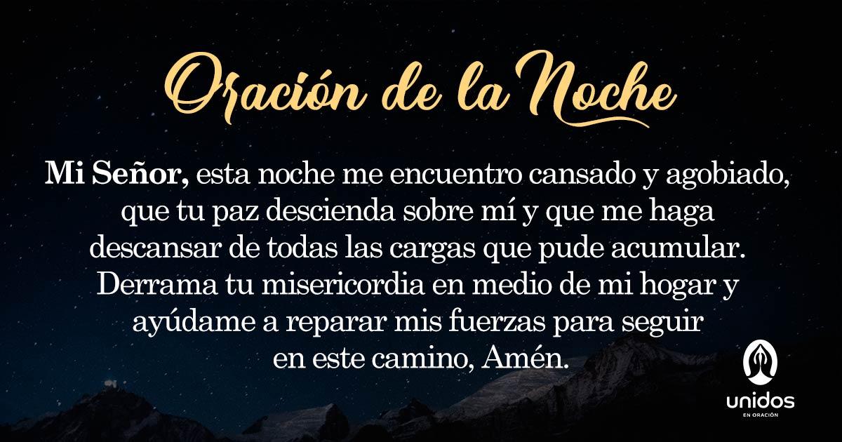 Oración de la noche para el 27 de Abril