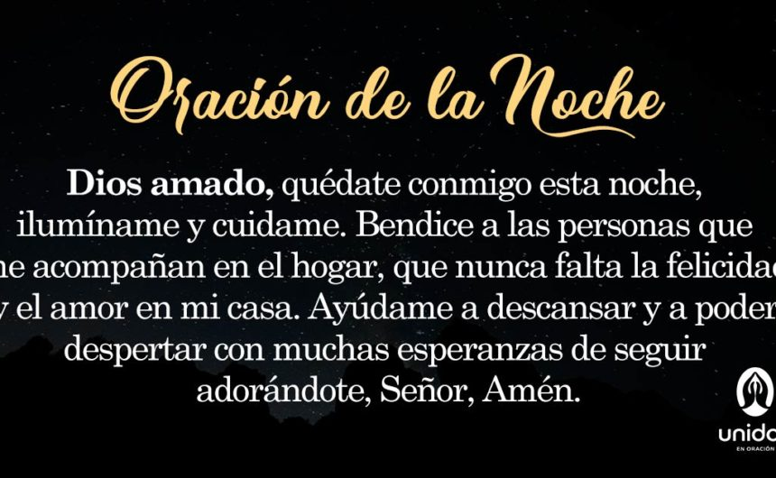 Oración de la noche para el 28 de Mayo