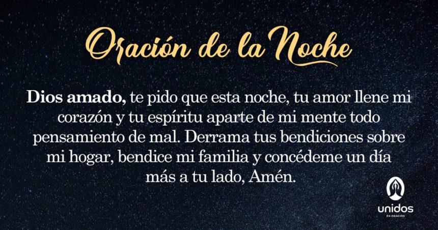 Oración de la noche para el 29 de Junio