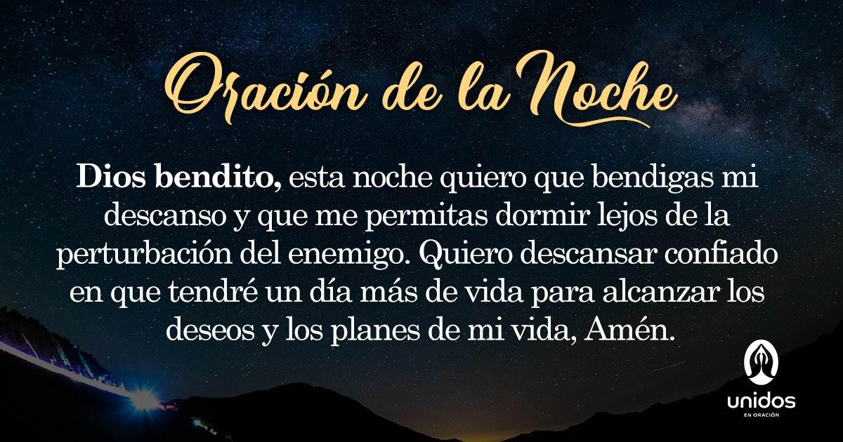 Oración de la noche para el 30 de Junio