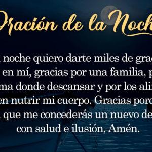 Oración de la noche para el 19 de Julio
