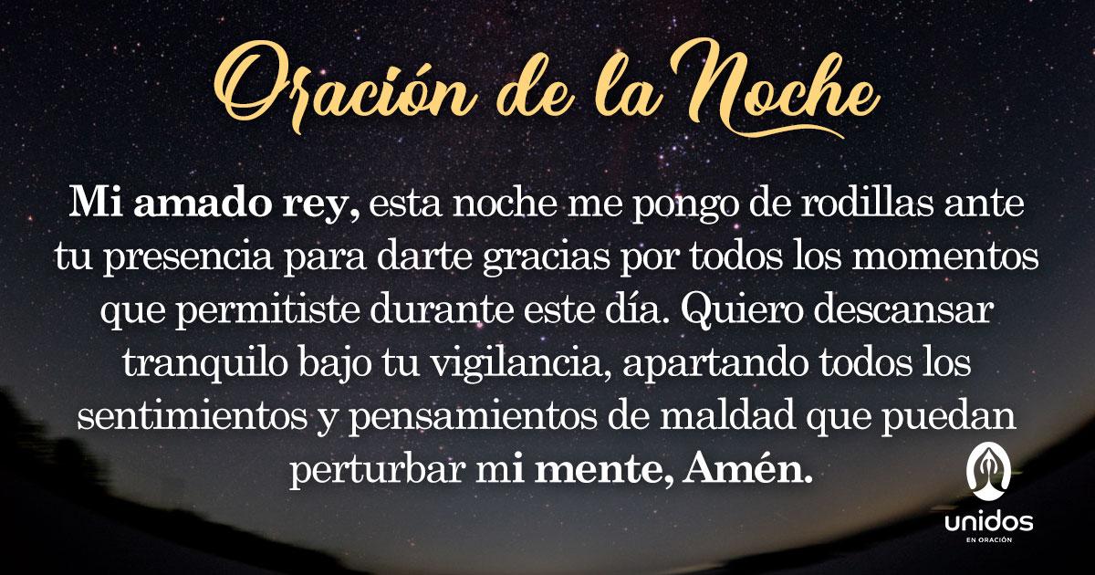 Oración de la noche para el 28 de Julio