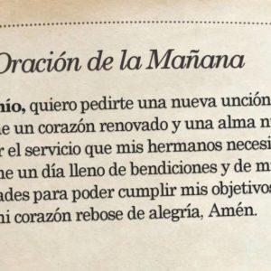 Oración de la mañana para el 4 de Julio