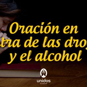 Oración en contra de las drogas y el alcohol