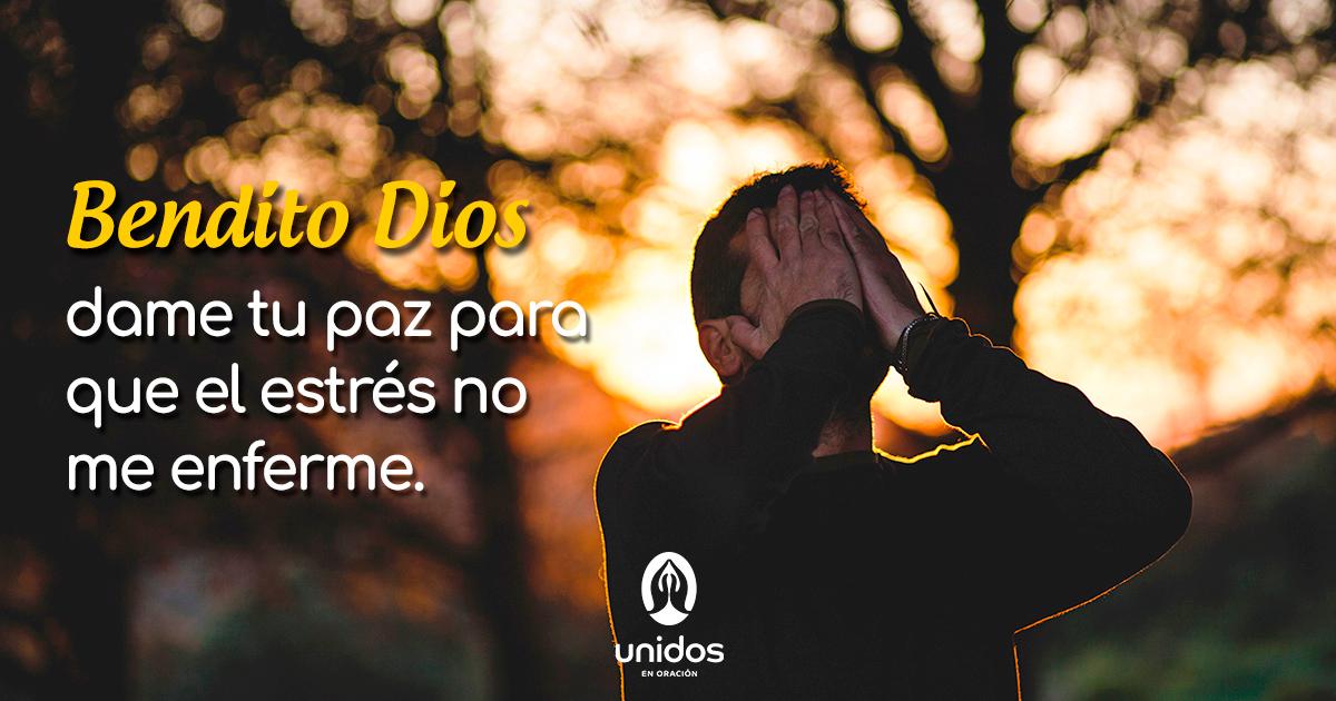 Oración para disminuir el estrés