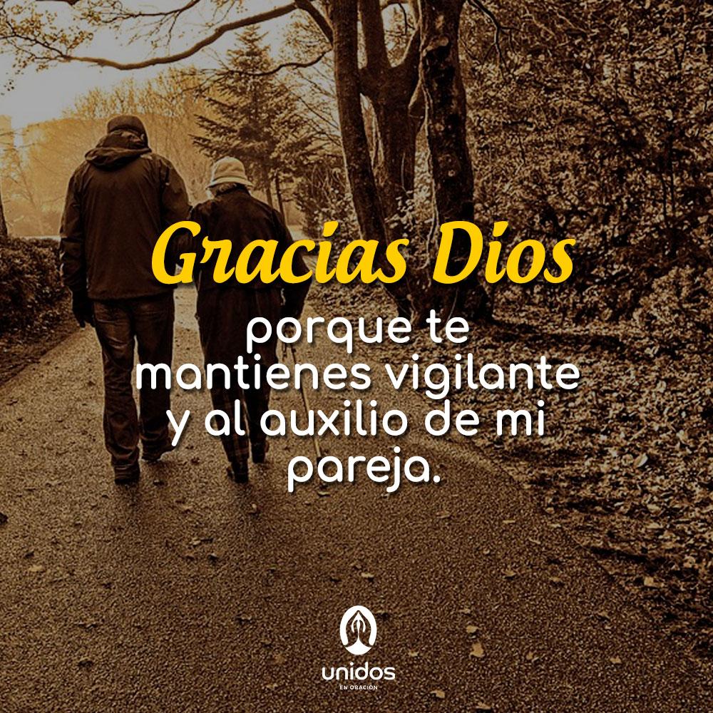 Oración para dar gracias por la vida de mi pareja