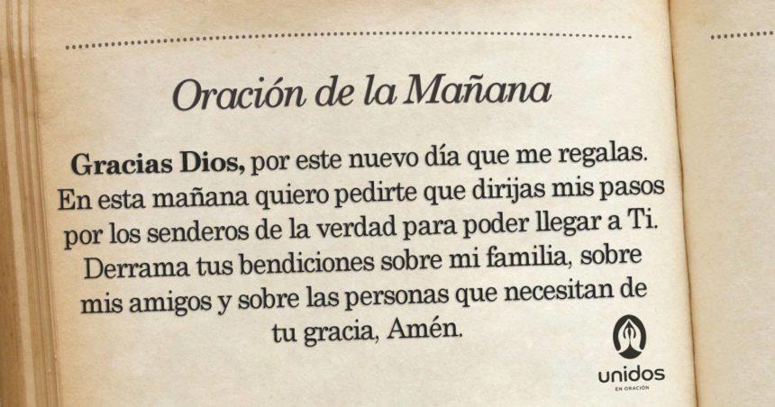 Oración de la mañana para el 2 de Septiembre