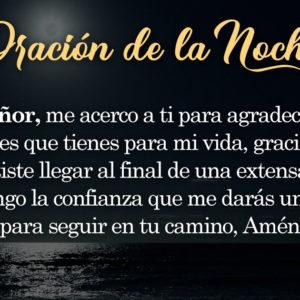 Oración de la noche para el 2 de Septiembre