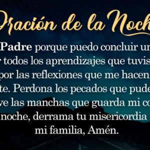 Oración de la noche para el 10 de Septiembre