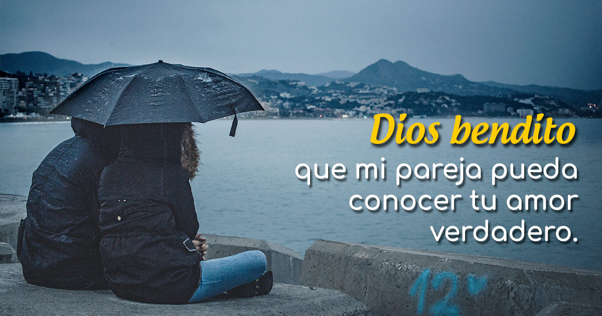 Oración por mi pareja que no cree en Dios