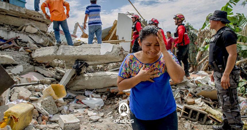 Oración por las víctimas de los desastres naturales