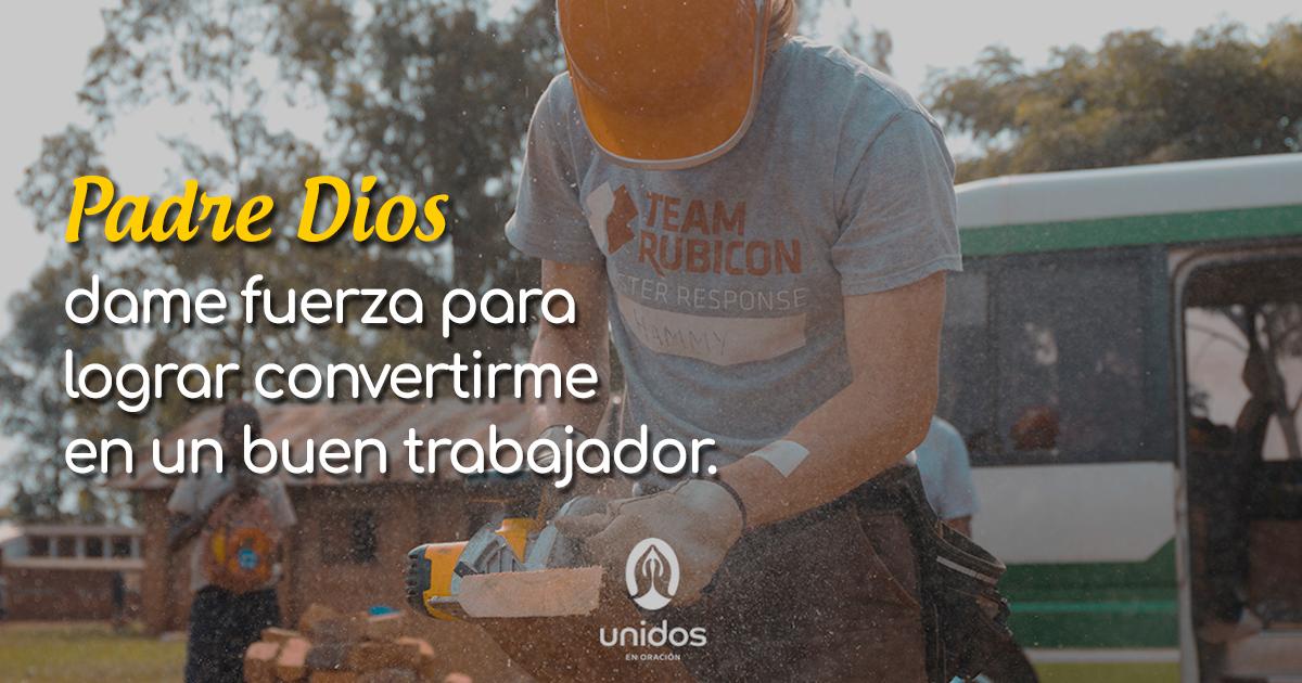 Oración para ser un buen trabajador
