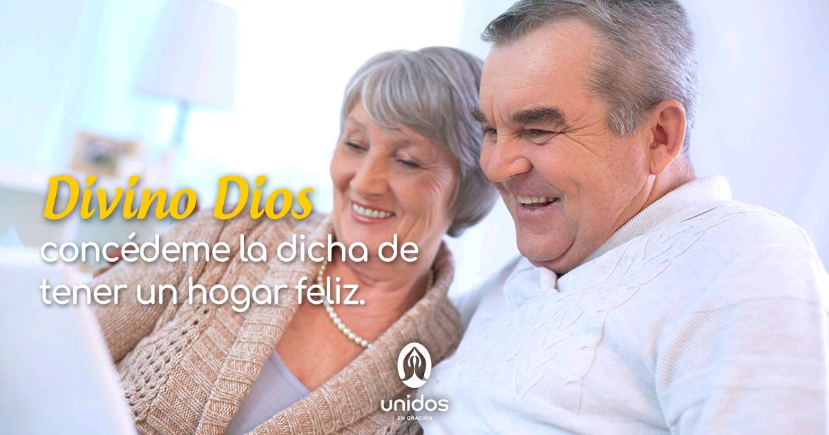 Oración para tener un hogar feliz