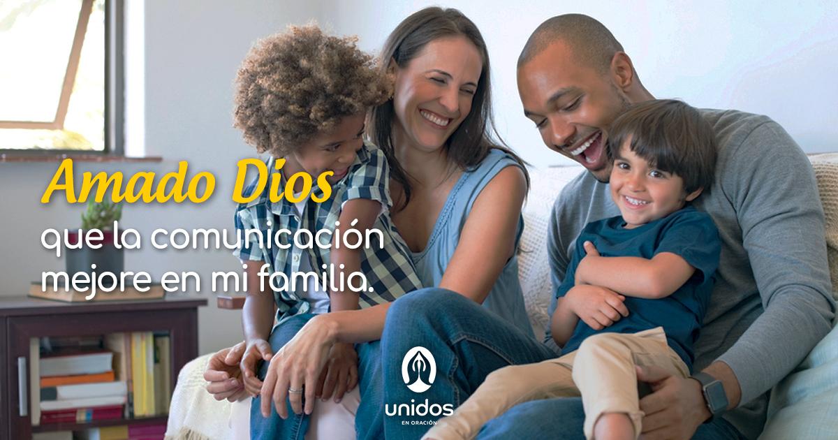 Oración para mejorar la comunicación familiar