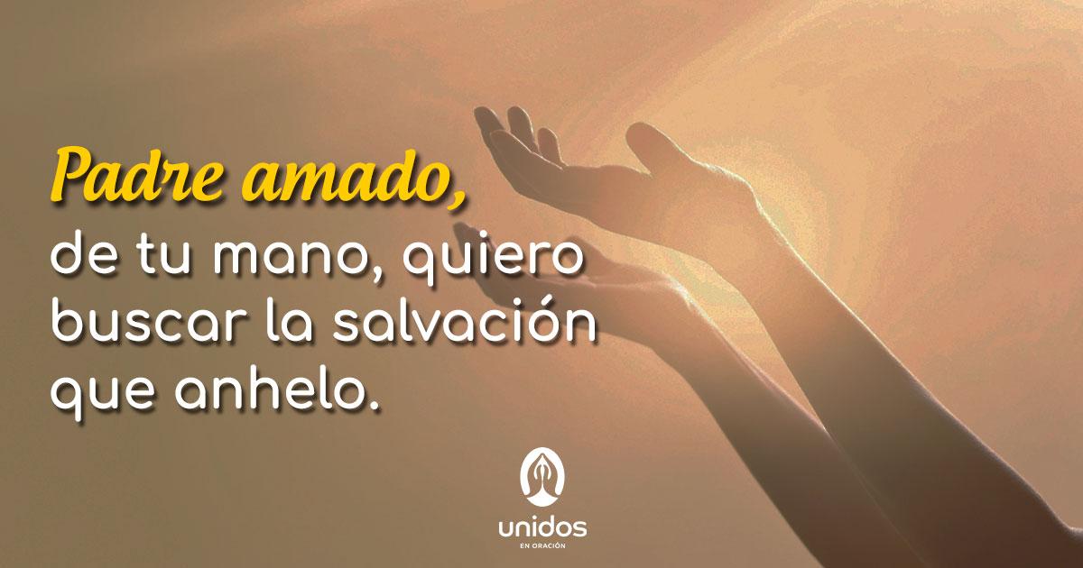 Oración para buscar la salvación