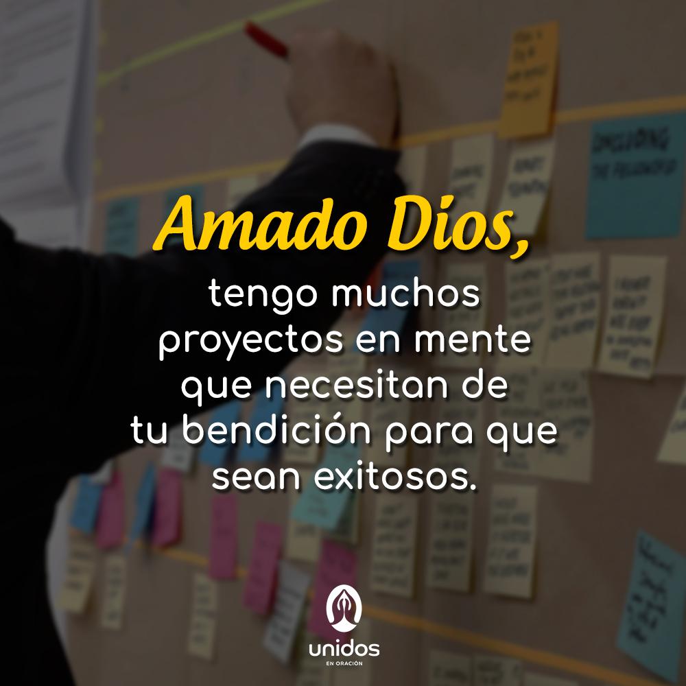 Oración para el éxito en los proyectos