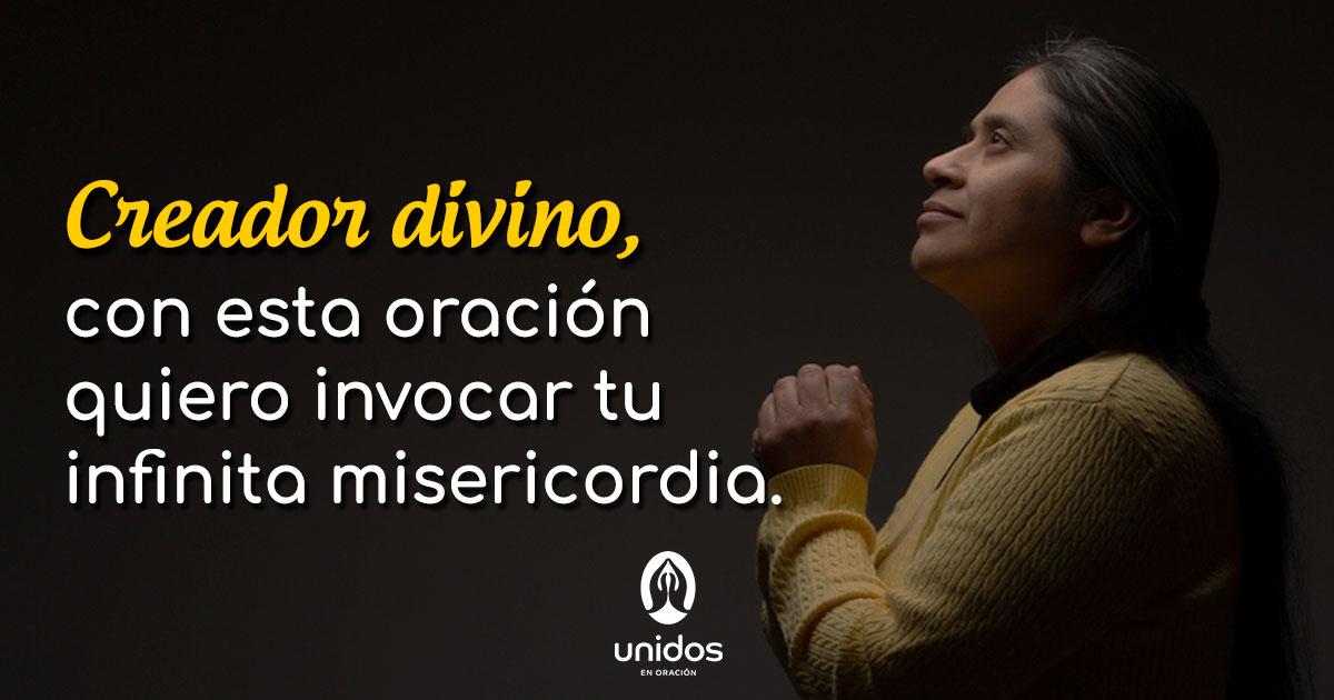 Oración para pedir la misericordia de Dios