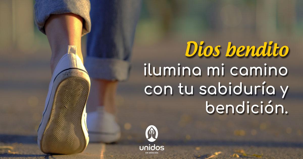 Oración para que Dios ilumine tu camino