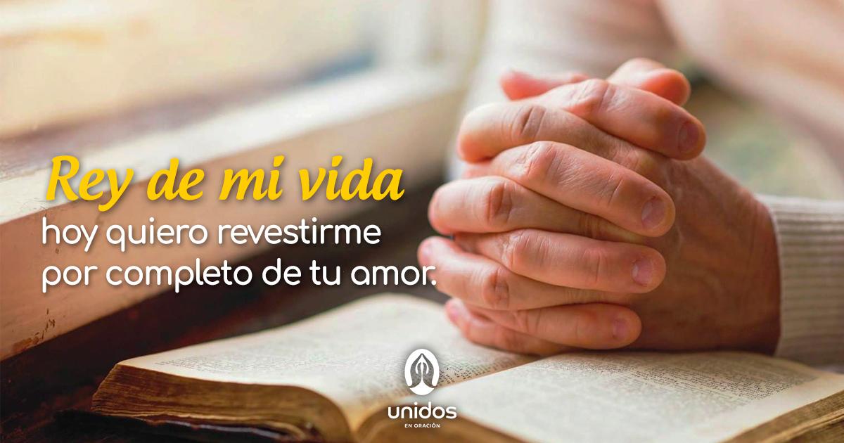 Oración para revestirse del amor de Dios