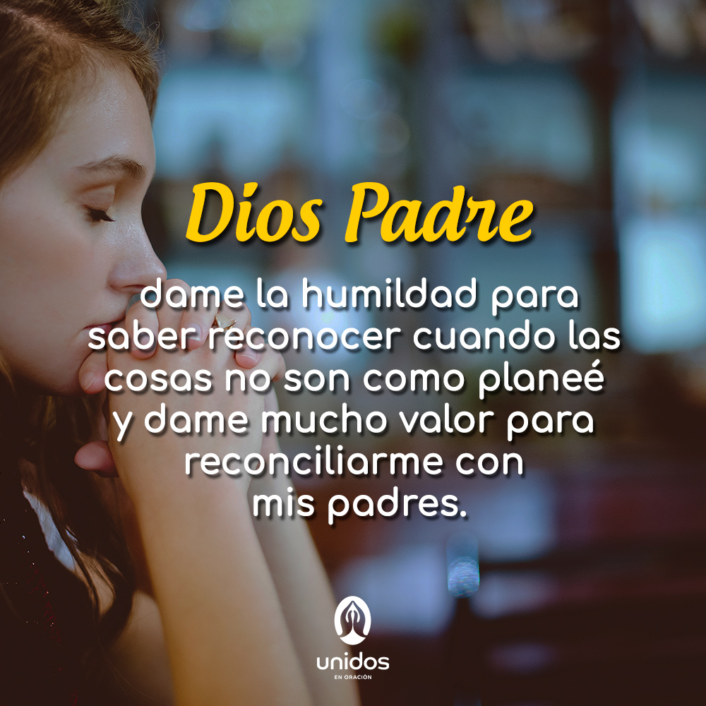 Oración Para Pedir Perdón A Nuestros Padres