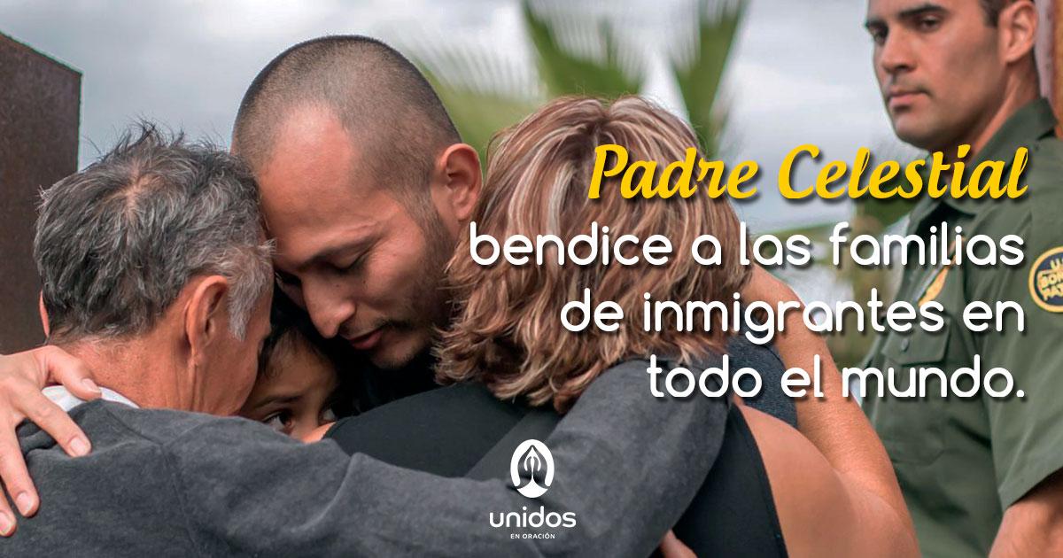 Oración por las familias inmigrantes