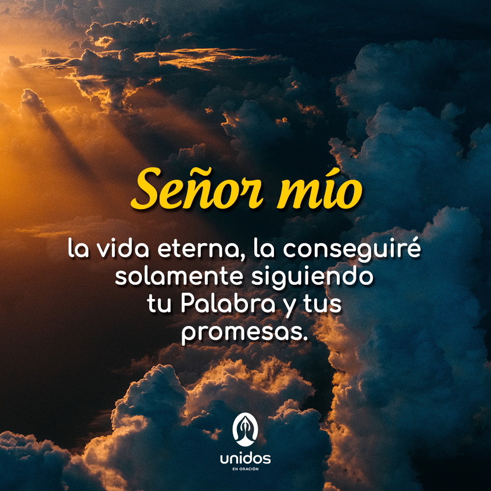 Oración para obtener la vida eterna y la gracia de Dios