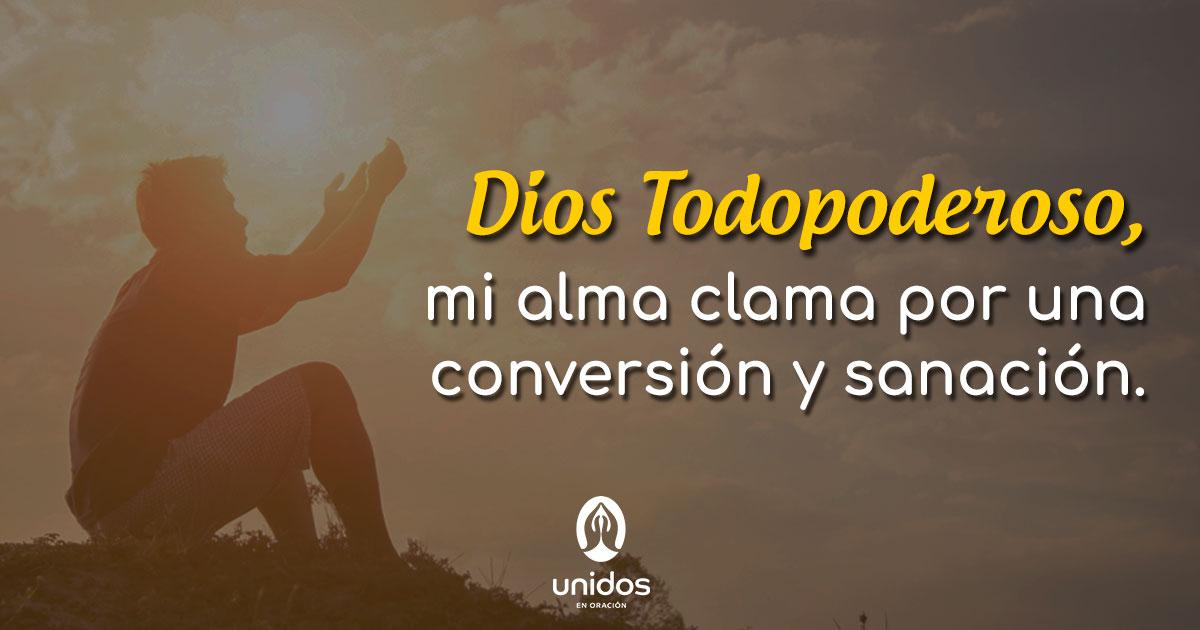 Oración de conversión y sanación