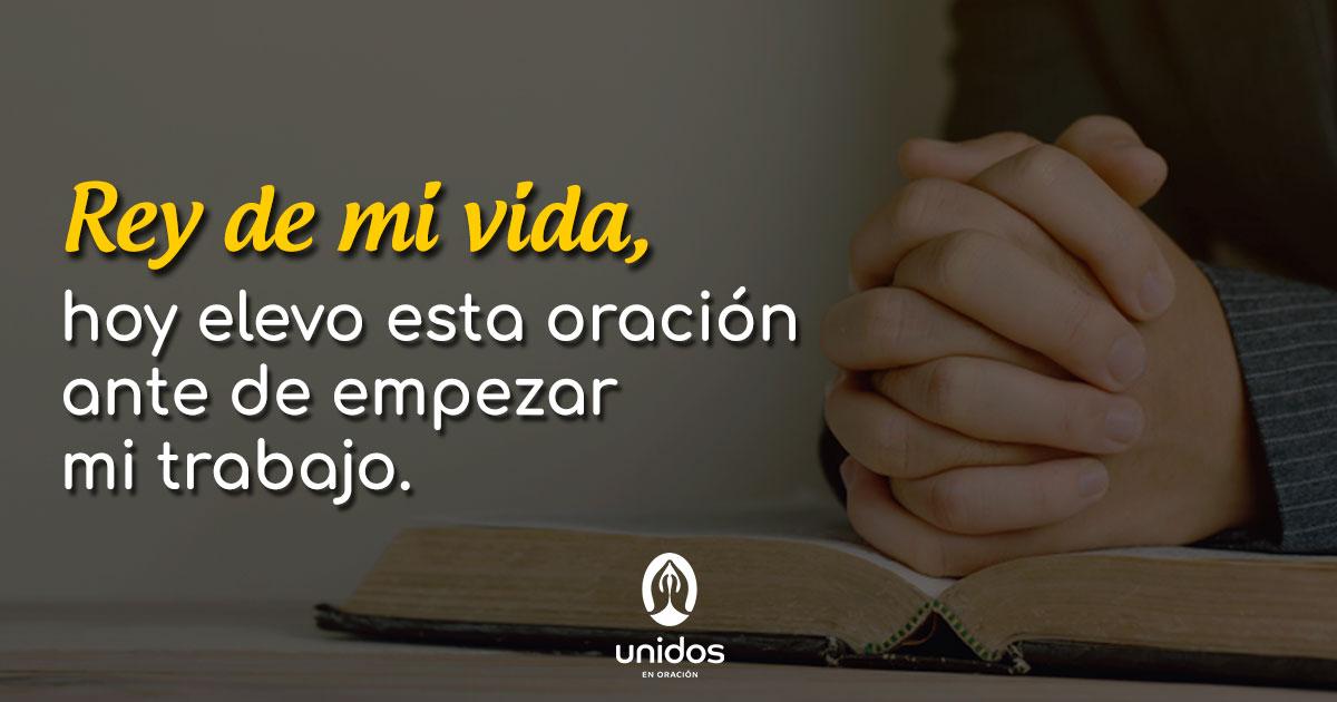 Oración para antes de trabajar