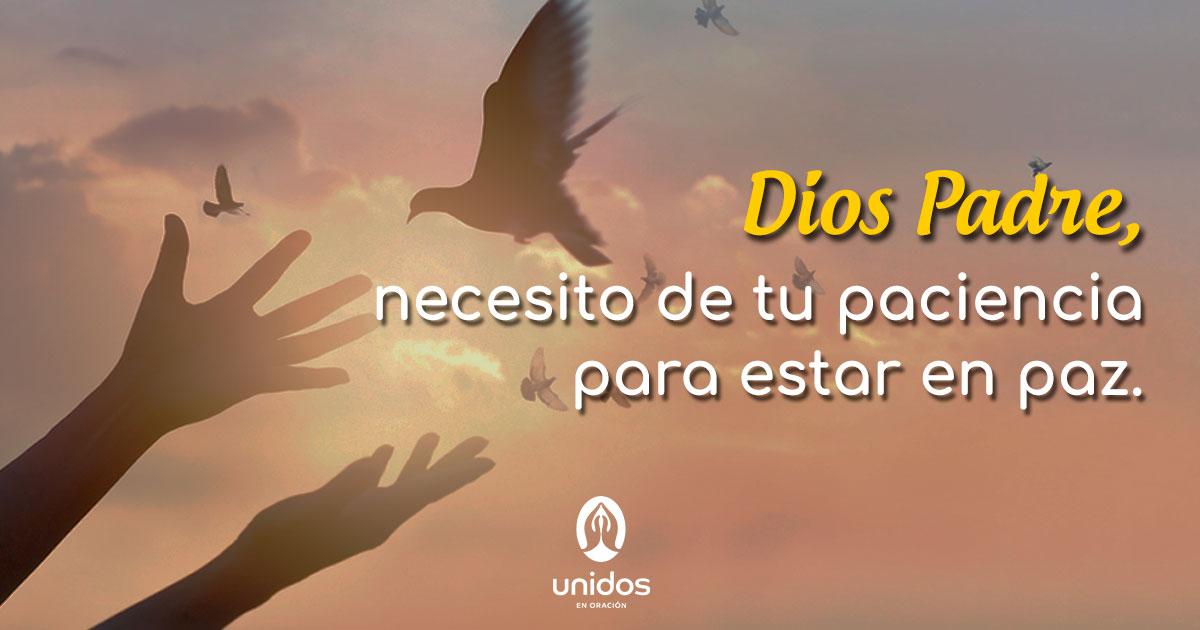 Oración para pedir paciencia a Dios