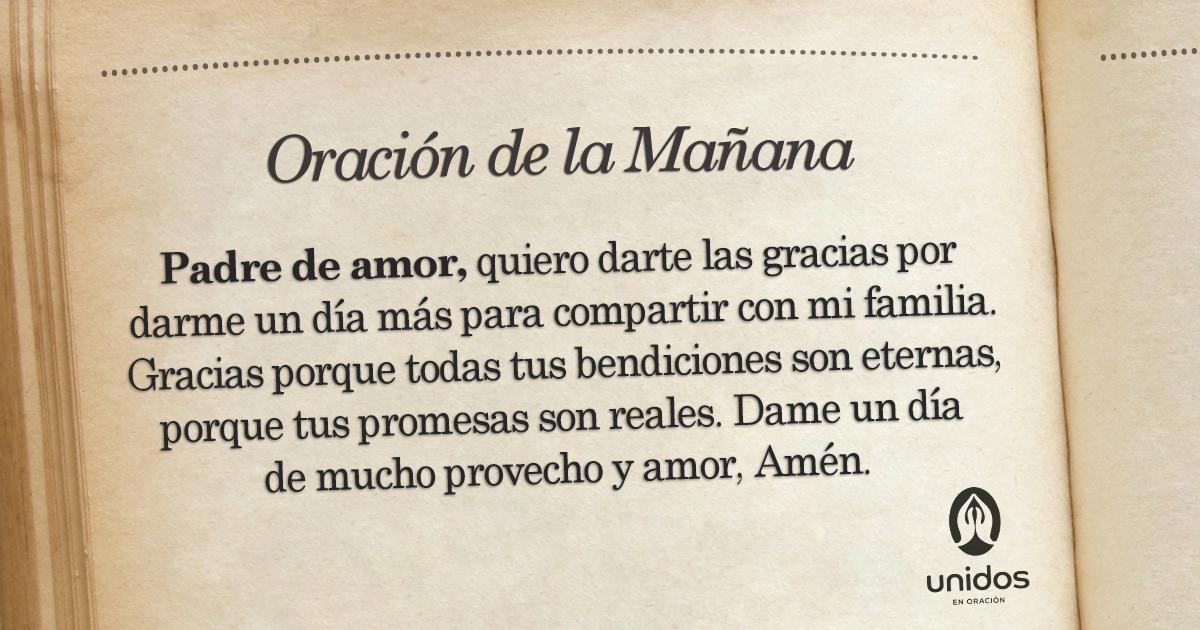 Oración de la mañana para el 29 de Febrero