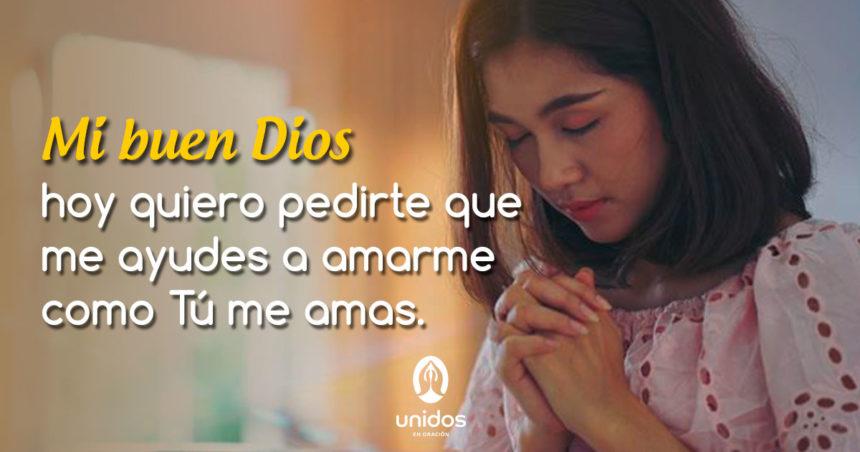 Oración para amarse a uno mismo
