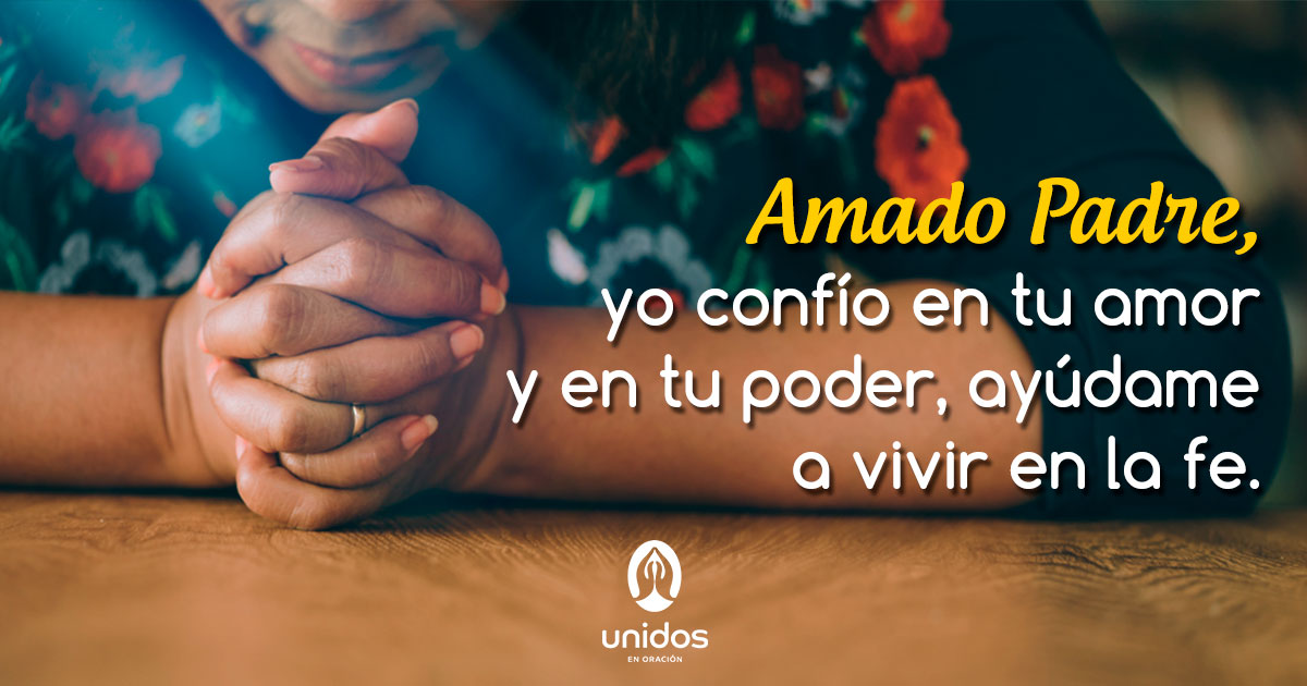 Oración para vivir en la fe