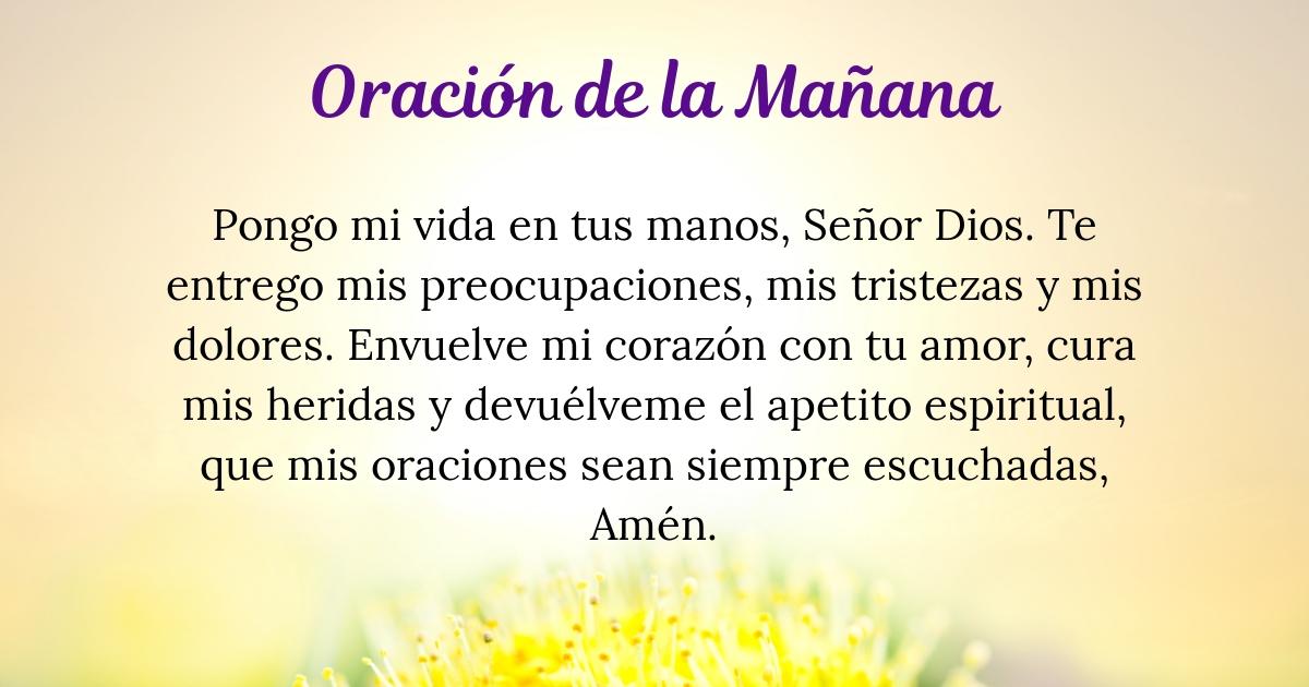 Oración de la mañana para el 14 de Noviembre